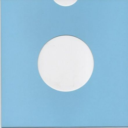 "7"" Card Sleeve 10 Pack - Blue"